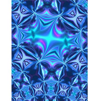 Yoga Mat Turquoise Reflections