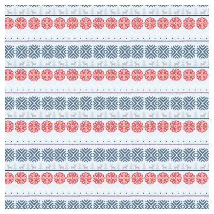 Fair Isle Print Cushions