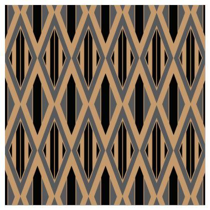 Decadent Diamond Pattern Cushion