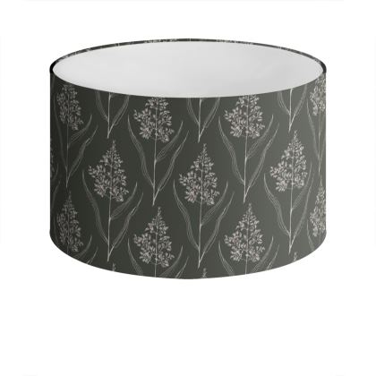 Botanical Luxury Collection - Drum Lamp Shade
