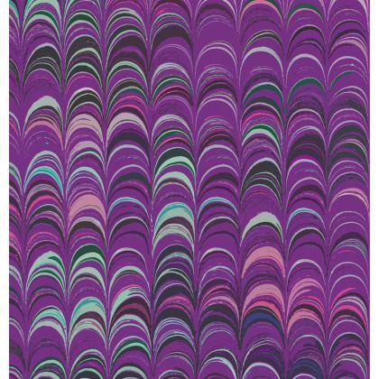 Folding Stool Chair - Around Ex Libris Pink Remix (1800 -1950)