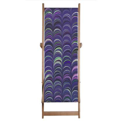 Deckchair Sling - Around Ex Libris Purple Remix (1800 -1950)