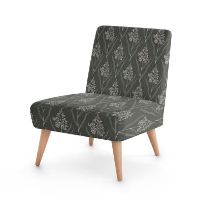 Botanical Luxury Collection (Dark Pecan) - Occasional Chair