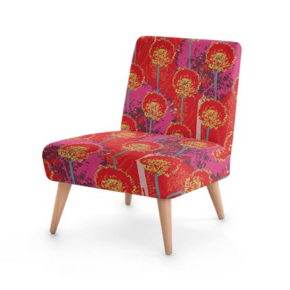 Dandelion Luxury Collection (RED) - Occasional Chair