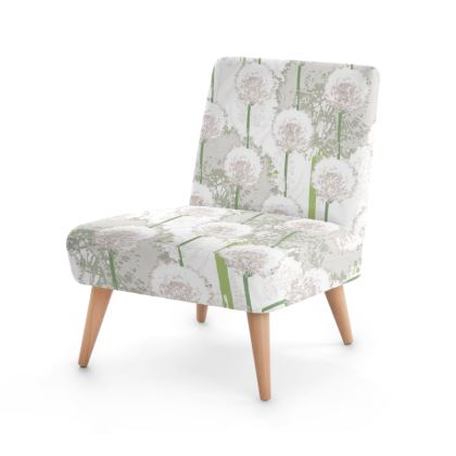 Dandelion Luxury Collection (WHITE) - Occasional Chair