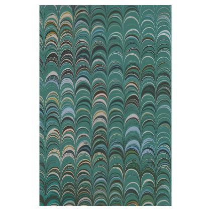Glasses Case Pouch - Around Ex Libris Jade Remix (1800 -1950)