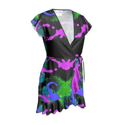Tea Dress- Emmeline Anne Exotic Bright