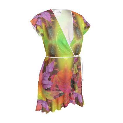 Tea Dress- Emmeline Anne Autumn Leaves