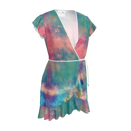 Tea Dress- Emmeline Anne Colourful Clouds