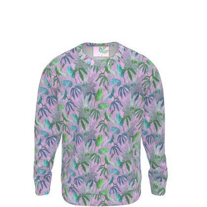 Sweatshirt [ladies]  Med shown   Passionflower   Purple Passion