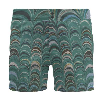 Board Shorts - Around Ex Libris Jade Remix (1800 -1950)
