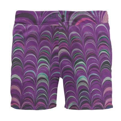 Board Shorts - Around Ex Libris Pink Remix (1800 -1950)