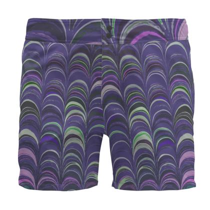 Board Shorts - Around Ex Libris Purple Remix (1800 -1950)