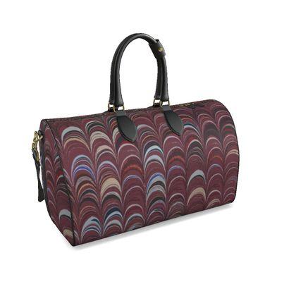 Large Duffle Bag - Around Ex Libris Remix (1800 -1950)