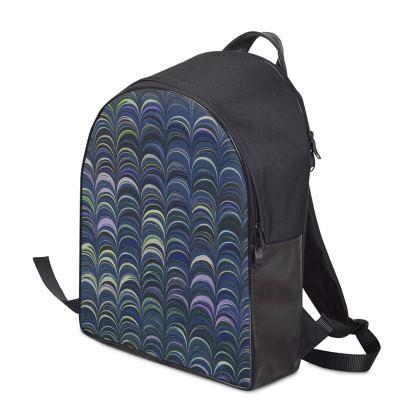 Backpack - Around Ex Libris Blue Remix (1800 -1950)