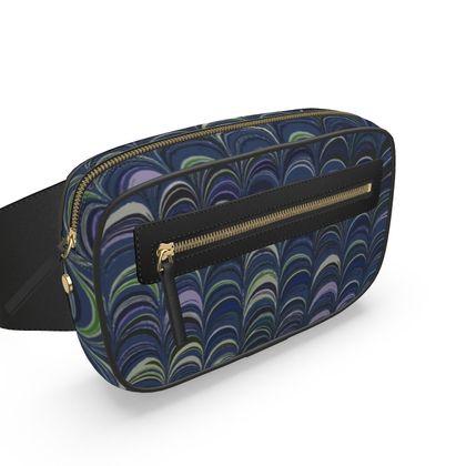 Belt Bag - Around Ex Libris Blue Remix (1800 -1950)
