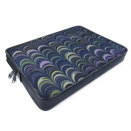 Laptop Bags - Around Ex Libris Blue Remix (1800 -1950)