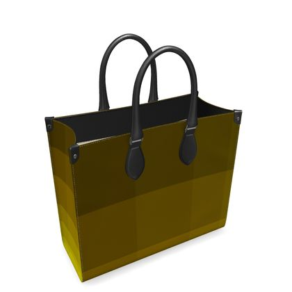 Leder-Shoppingtasche