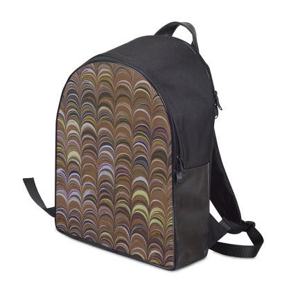 Backpack - Around Ex Libris Brown Remix (1800 -1950)