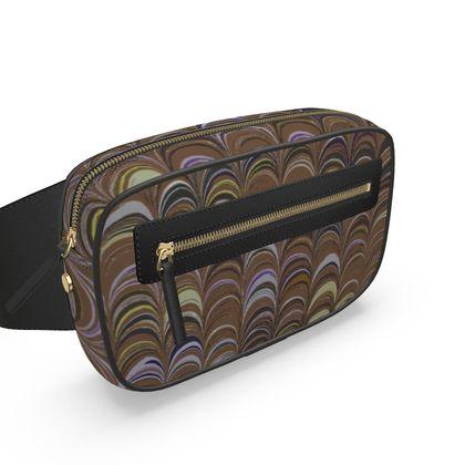 Belt Bag - Around Ex Libris Brown Remix (1800 -1950)