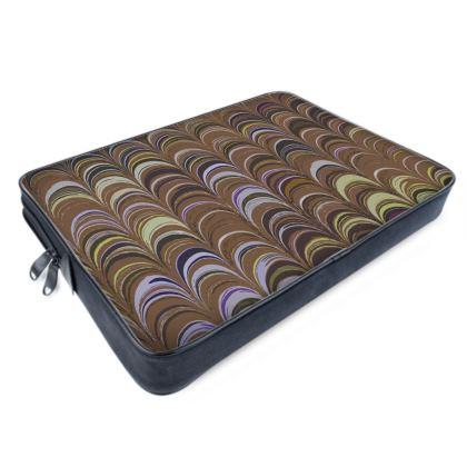 Laptop Bags - Around Ex Libris Brown Remix (1800 -1950)