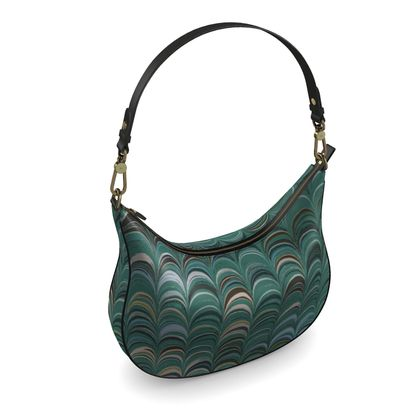 Curve Hobo Bag - Around Ex Libris Jade Remix (1800 -1950)