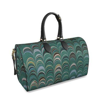 Large Duffle Bag - Around Ex Libris Jade Remix (1800 -1950)
