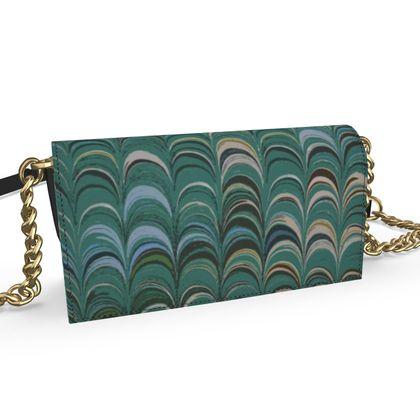 Oana Evening Bag - Around Ex Libris Jade Remix (1800 -1950)