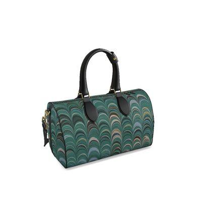 Small Duffle Bag - Around Ex Libris Jade Remix (1800 -1950)