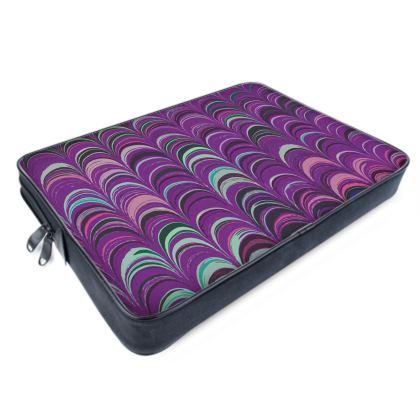 Laptop Bags - Around Ex Libris Pink Remix (1800 -1950)
