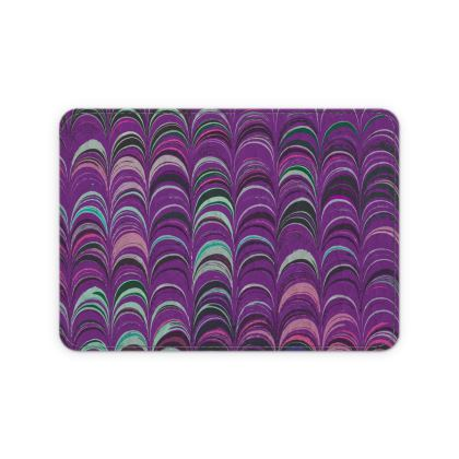 Leather Card Case - Around Ex Libris Pink Remix (1800 -1950)