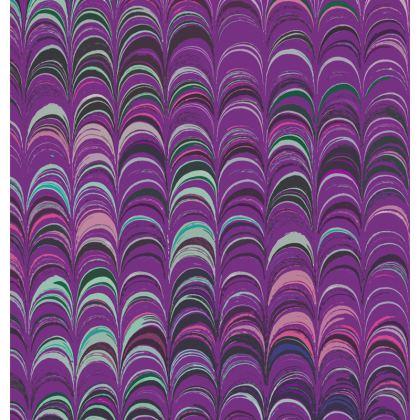 Mens Wallet - Around Ex Libris Pink Remix (1800 -1950)