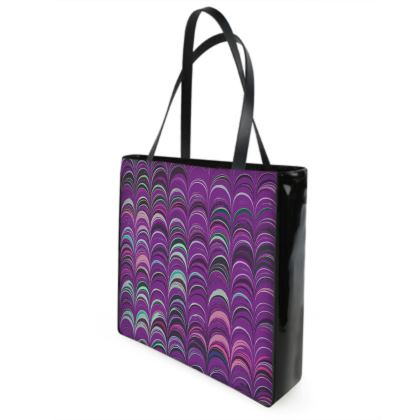 Shopper Bags - Around Ex Libris Pink Remix (1800 -1950)