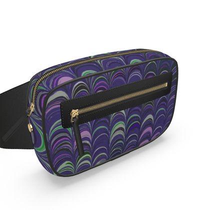Belt Bag - Around Ex Libris Purple Remix (1800 -1950)