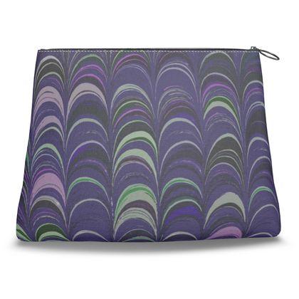 Clutch Bag - Around Ex Libris Purple Remix (1800 -1950)