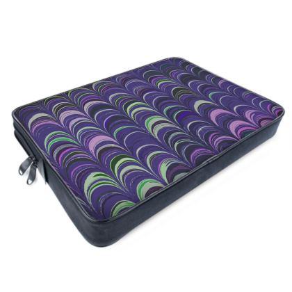 Laptop Bags - Around Ex Libris Purple Remix (1800 -1950)