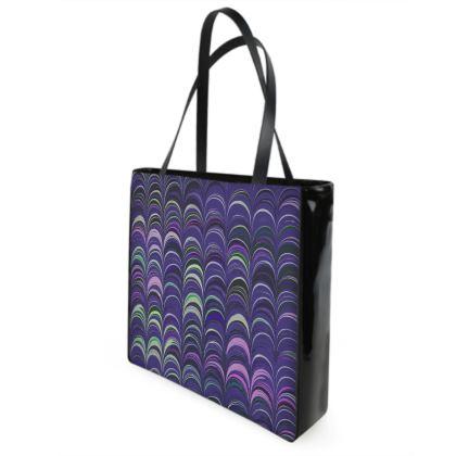 Shopper Bags - Around Ex Libris Purple Remix (1800 -1950)