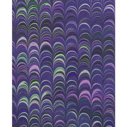 Shoulder Bag - Around Ex Libris Purple Remix (1800 -1950)