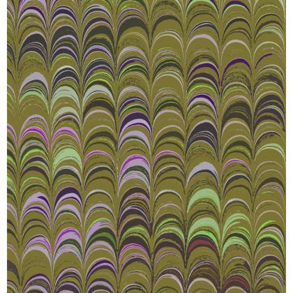 Mens Wallet - Around Ex Libris Yellow Remix (1800 -1950)