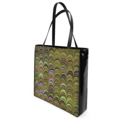 Shopper Bags - Around Ex Libris Yellow Remix (1800 -1950)