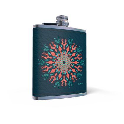 My ocean Mandala Mode, Hip Flask