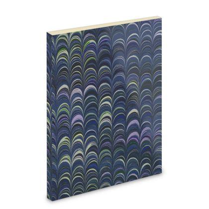 Pocket Note Book - Around Ex Libris Blue Remix (1800 -1950)