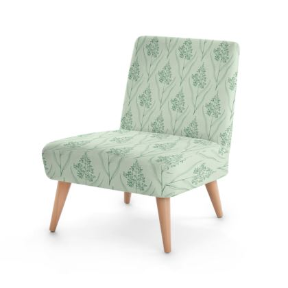 Botanical Luxury Collection (Pale Fern)Occasional Chair