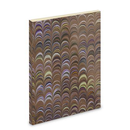 Pocket Note Book - Around Ex Libris Brown Remix (1800 -1950)