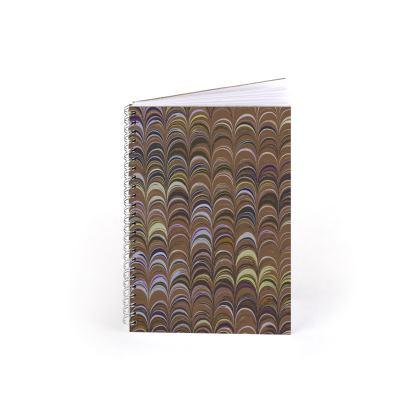 Spiral Note Books - Around Ex Libris Brown Remix (1800 -1950)