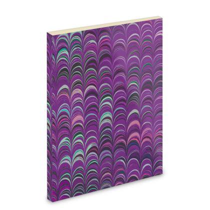 Pocket Note Book - Around Ex Libris Pink Remix (1800 -1950)