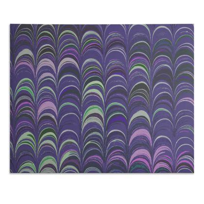 Desk Pad - Around Ex Libris Purple Remix (1800 -1950)