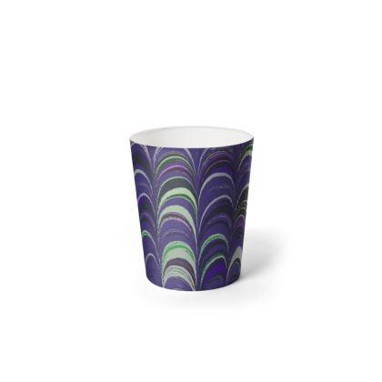 Waste Paper Bin - Around Ex Libris Purple Remix (1800 -1950)
