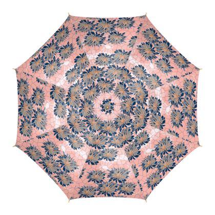 Daisy Luxury Collection (Navy & Pink) - Umbrella