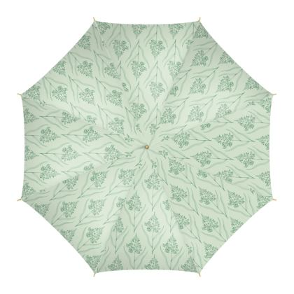 Botanical Luxury Collection (Pale Fern) - Umbrella
